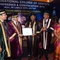 Dr. N.M. Veeraiyan, Chancellor, Saveetha University, was conferred the Honorary Fellowship